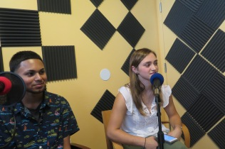 Feroze Sibdhanny and Isabella Courchesne, Hosts and Producers.