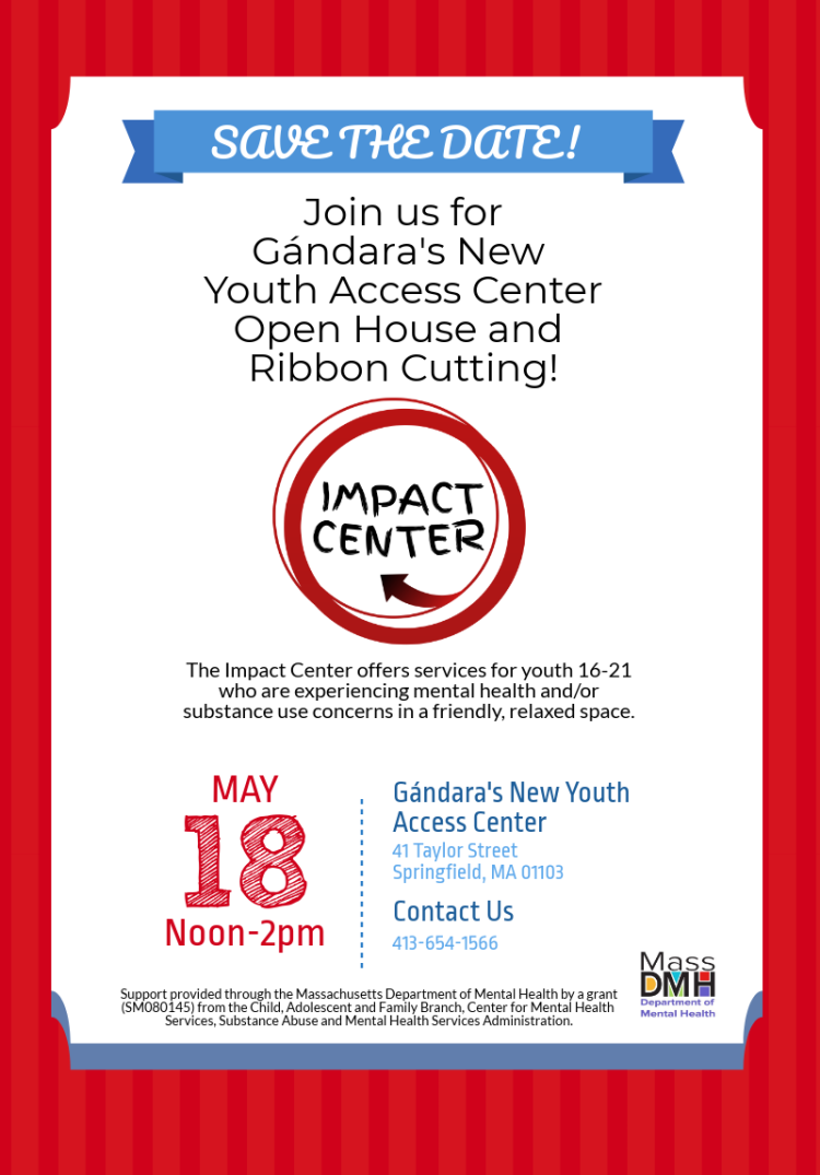 Impact Center Save The Date